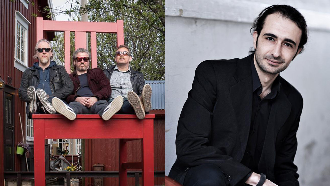 Jovan Pavlovic Trio w/Maher Mahmoud