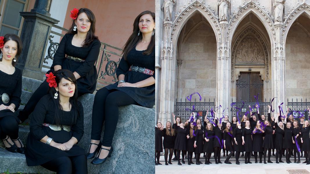 Vaya Quartet and Trondhjems Kvinnelige Studentersangforening